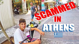 Athens Scams: A Twist On The Scam Harald Baldr Exposed
