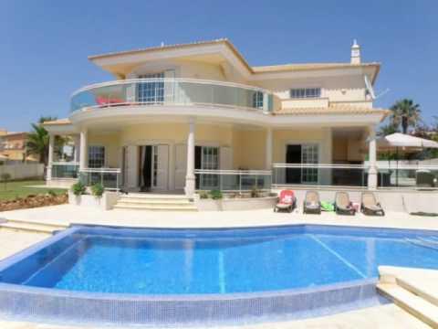 Schitterende vrijstaande villa gelegen in de mooie omgeving van gal algarve portugal youtube - De mooiste gevels van huizen ...