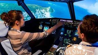 Simulateur Vol A320 chez Aviasim Airlines