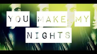 RONI IRON & VICKY BANIA - You Make My Nights (Lyric Video)