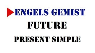 Future Present Simple