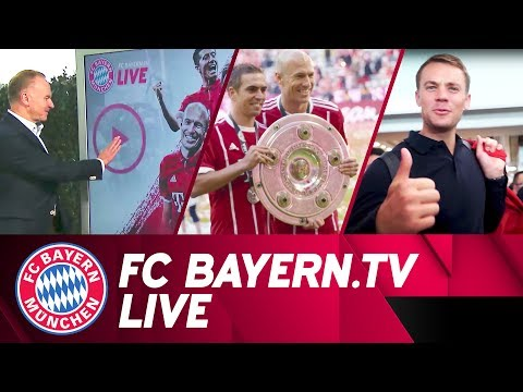 The whole world of FC Bayern | FC Bayern.tv live