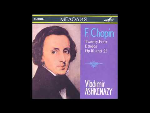 Chopin Etude 1 in C major, op. 10 - Vladimir Ashkenazy