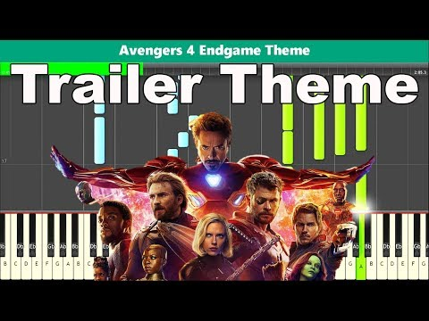 Avengers Endgame Theme Piano Tutorial - Free Sheet Music thumbnail
