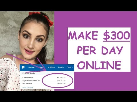 HOW TO MAKE $300 PER DAY ONLINE (STEP BY STEP GUIDE)