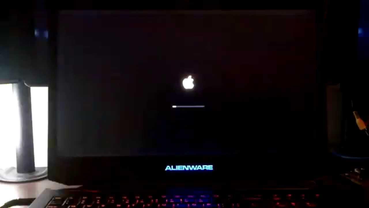 Mac Yosemite Running On Alienware 17 Laptop [Hackintosh]