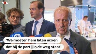 Theo Hiddema reageert op opstappen Henk Otten: 'Vertrouwensbreuk'
