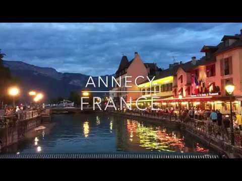 A visit to Annecy, France
