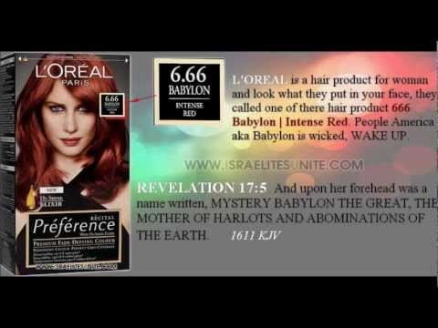 NEW LOREAL PARIS CO HAIR COLOR BRAND ENTITLED 666