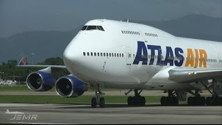 Atlas Air 747-400 N465MC Landing - MHLM San Pedro Sula.