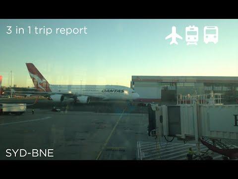 Trip Report: Planes, Trains & Buses (Sydney to SE Queensland)