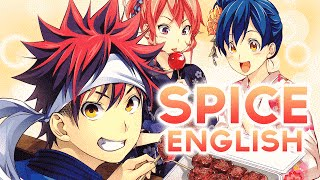 Gambar cover Shokugeki no Soma - Spice (English Cover) by Lemon & Kuraiinu