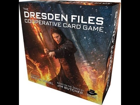 Dresden Files the Co-op card game PC- Steam