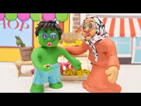 FIND SHOP TO BUY FLOWERS -In- Green Baby Animation Stop Motion Cartoons For Kids - 동영상