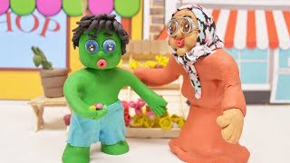 FIND SHOP TO BUY FLOWERS -In- Green Baby Animation Stop Motion Cartoons For Kids