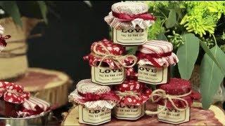 How to Make Mini Mason Jar Wedding Favors