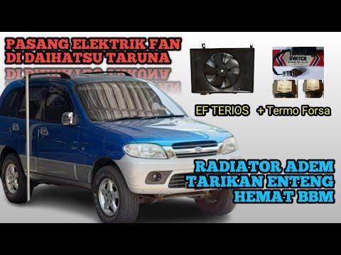 Daihatsu Taruna Modif Elektrik Fan Radiator (Part1)