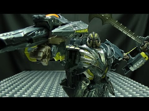 The Last Knight Leader MEGATRON: EmGo's Transformers Reviews N' Stuff