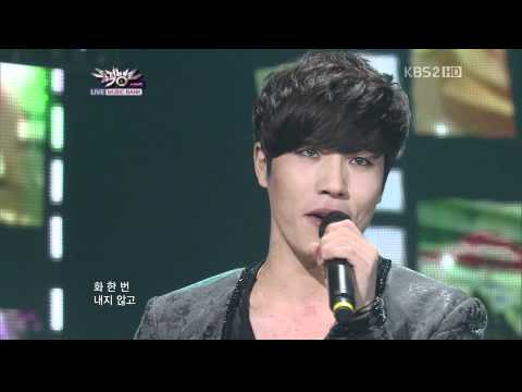 110218 Music Bank lee hyun-you are the best of my life