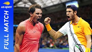 Rafael Nadal vs Karen Khachanov in a titanic battle! | US Open 2018 Round 3