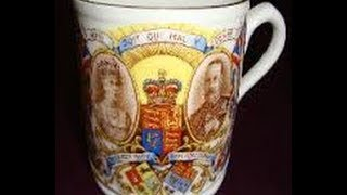 Silver Jubilee of King George V and Queen Mary James Kent Mug & What it is worth
