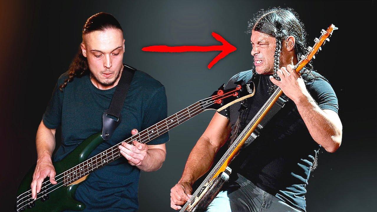 If I Were Metallica Bassist - DEATH MAGNETIC