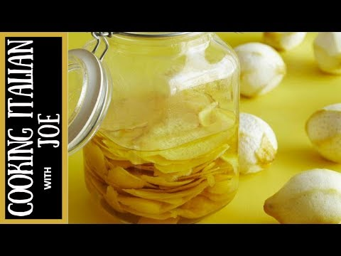 How to Make Authentic Limoncello Recipe Southern Italy Cooking Italian with Joe