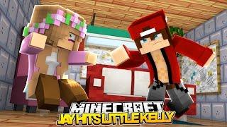 Minecraft Little Kelly : MY BOYFRIEND JAY ATTACKS ME!!! w/Ramona (Roleplay)
