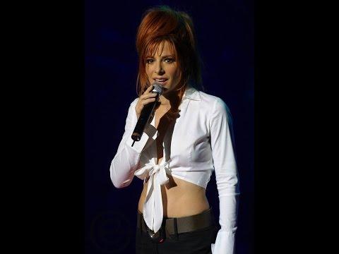 Mylene Farmer. Ici bas... (karaoke-Lyrics).