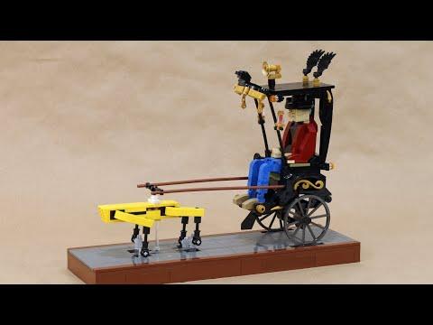 LEGO Adam Savage Robot Rickshaw