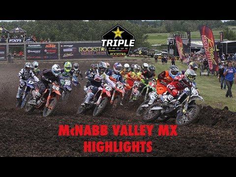 Rockstar MX Tour | McNabb Valley Highlights | Round 4