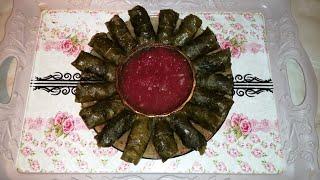 #долмаазербайдзанская #долмаизвиноградныхлистьев  Азербайджанская долма,долма в виноградных листьях