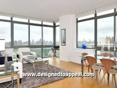 Home Staging: Manhattan--Stunning NYC Views From Upper West Side Penthouse