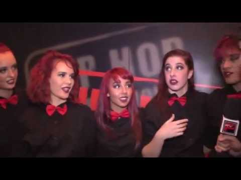 SORORITY CREW NZ - IS INTERVIEWED BY PACIFIC RIM - POST SEMI FINALS HHI 2011