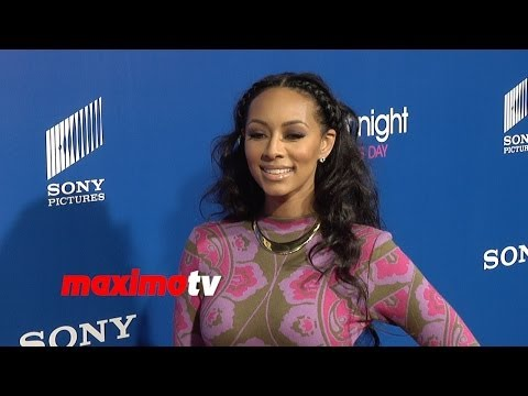 "Keri Hilson Gorgeous! ""About Last Night"" Los Angeles Premiere Red Carpet Arrivals"