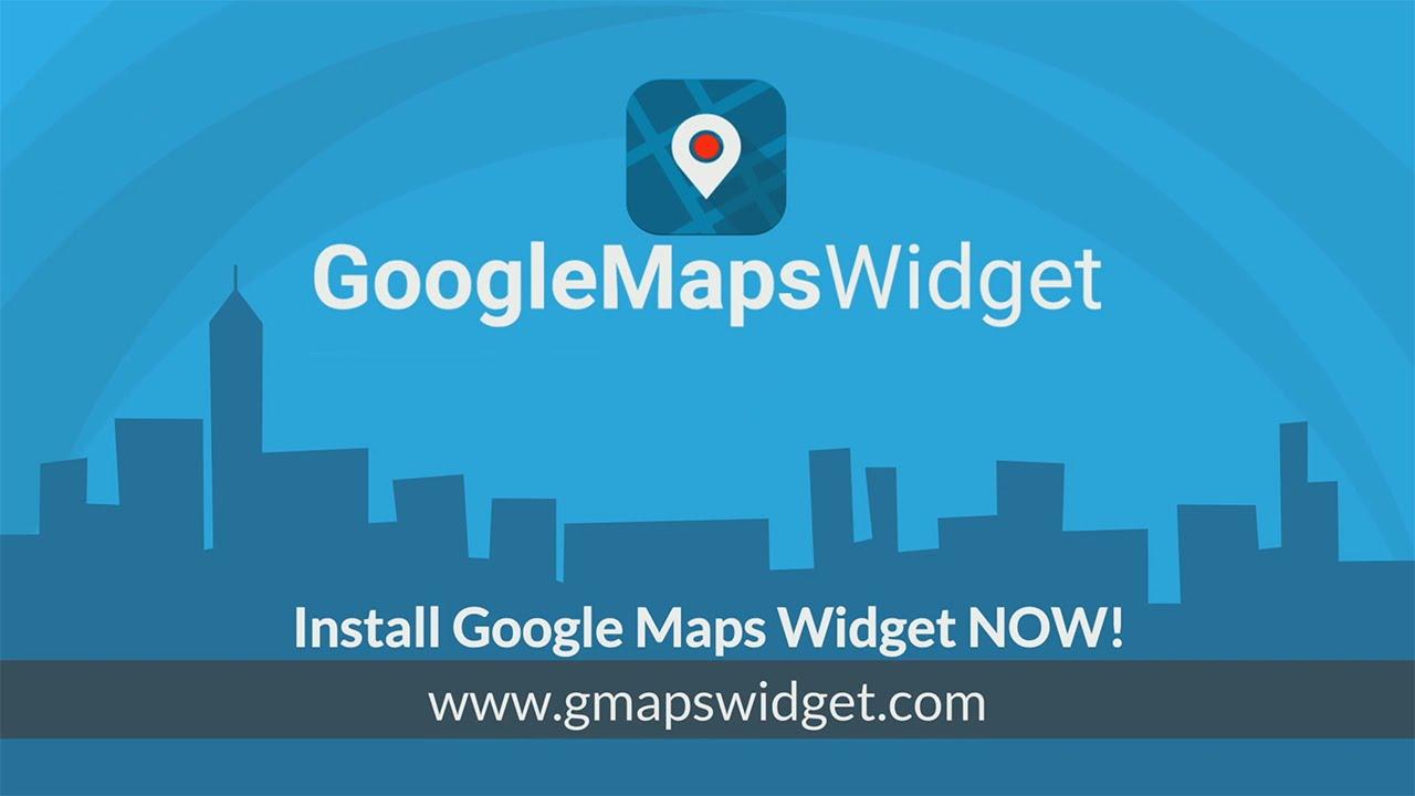Maps Widget for Google Maps – Google Maps Builder – WordPress plugin
