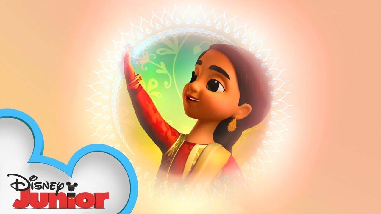 The Eid Mubarak Song   Mira, Royal Detective   @Disney Junior