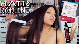HOW I KEEP MY HAIR HEALTHY Current HAIR ROUTINE 2017