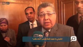 مصر العربية | الشيحي: لا توجد أزمة تسمى