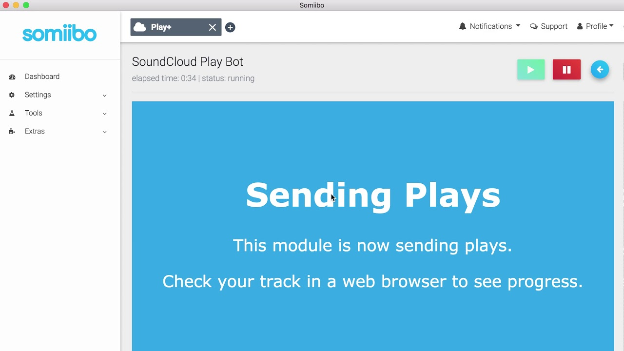 SoundCloud Bot - Get real followers, plays, likes, reposts, and