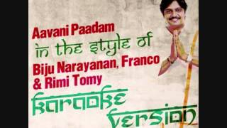 ameritz-indian-karaoke-aavani-paadam-in-the-style-of
