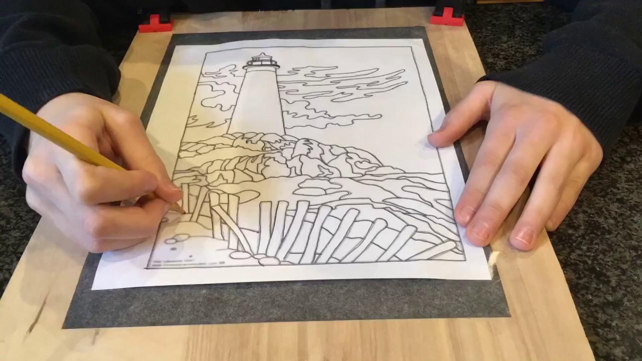 Wood Carving Dremel Dremel Wood Carving Lighthouse Youtube