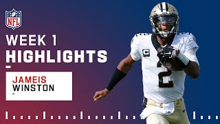Jameis Winston Pops Off w/ 5 TD Passes in Big Win | NFL 2021 Highlights