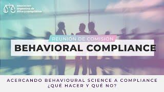 Comisión de Behavioral Compliance   14/7