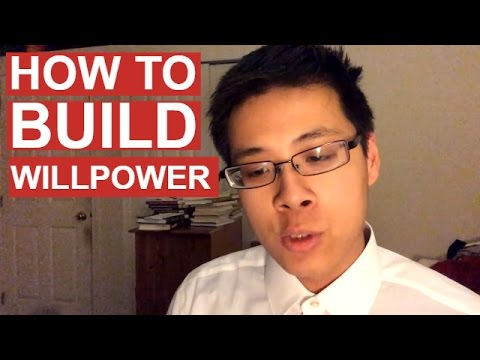 How to Build Willpower and Self Discipline