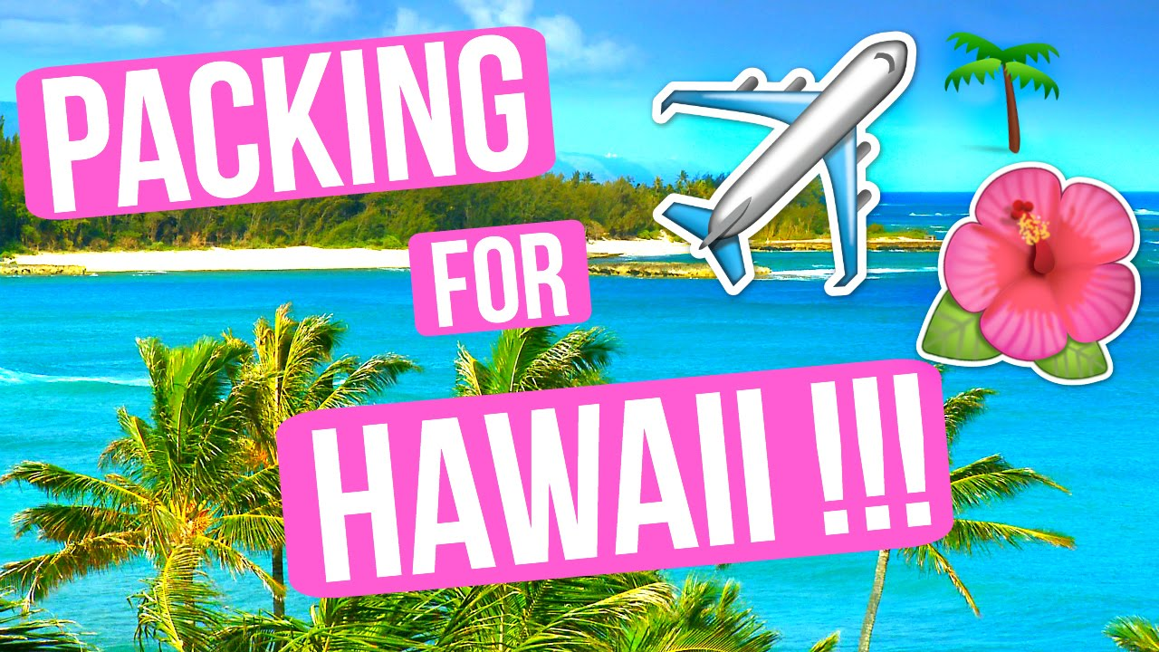 PACKING FOR HAWAII!!!! VLOGMAS DAY 9!!