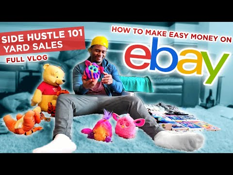 How to Make 10x Your Money on Ebay Like Gary Vee! | Side Hustle Vlog