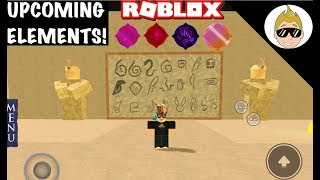 UPCOMING ELEMENTS! | Roblox Elemental Battlegrounds