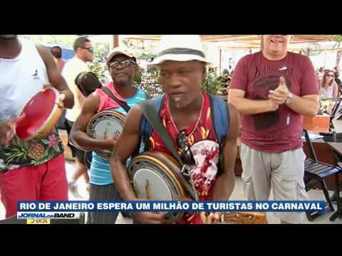 Um milhão de turistas são esperados para o Carnaval no RJ