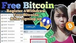 Legit Apps, Free Bitcoin (Register & Withdraw after Sign-up)